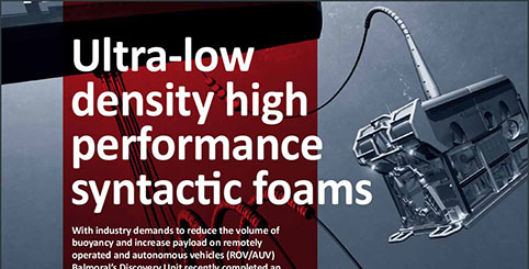 Ultra-low density syntactic foams brochure