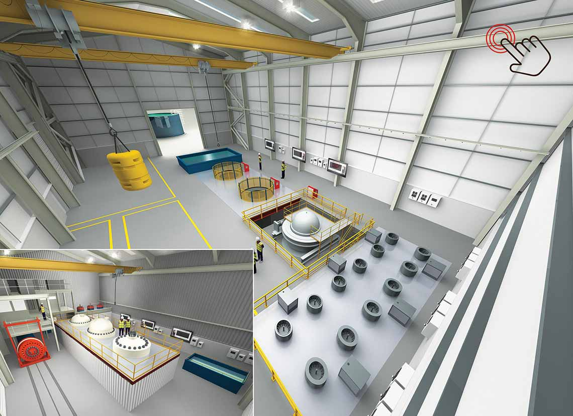 Balmoral Subsea Test Centre illustration